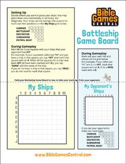 Battleship Game Board