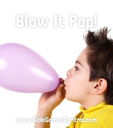 Blow it Pop Christian Game