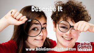 Describe It Bible Game for Adults Youths Kids