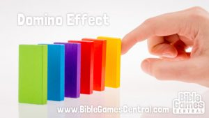 Domino Effect Bible Game for Youths and Kids