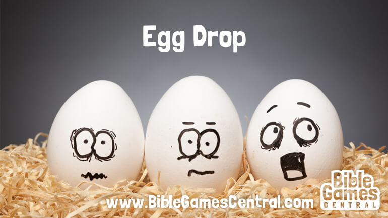 Egg Drop Bible Game for Adults Youths Kids
