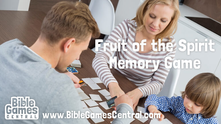 Fruit of the Spirit Game and Activity
