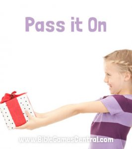 Pass it On Church Game