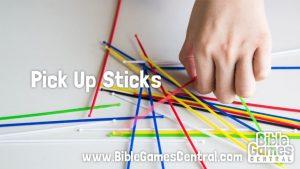 Pick Up Sticks Christian Game