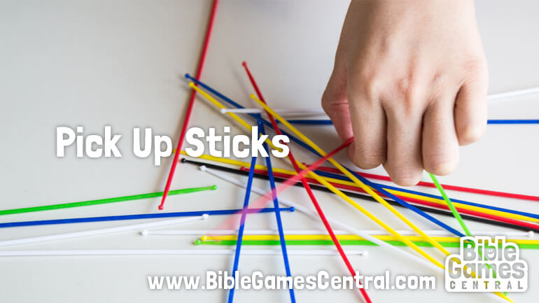 Pick Up Sticks Christian Game