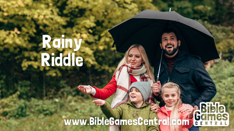 Rainy Riddle Church Game