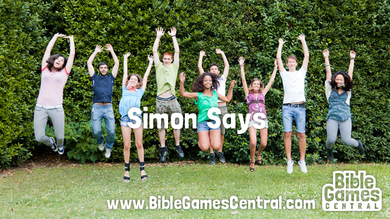 Simon Says Kids Bible Game