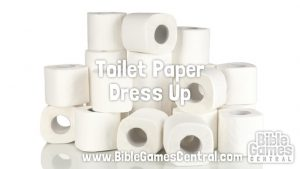 Toilet Paper Dress Up Bible Game for Adults Youths Kids