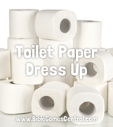 Toilet Paper Dress Up