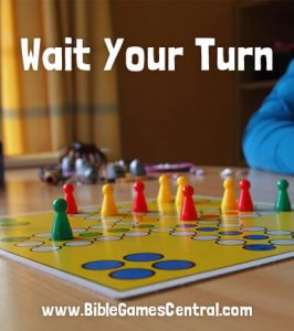 Wait Your Turn Bible Game