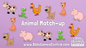 Noah's Ark Game – Animal Match-up
