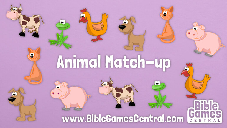 Noah's Ark Game – Animal Match-up