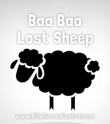 Baa Baa Lost Sheep Bible Game for Kids