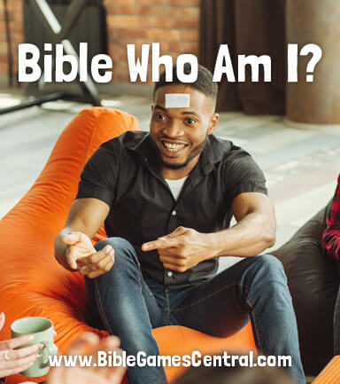 Bible Who Am I Game for Adults Youths Kids