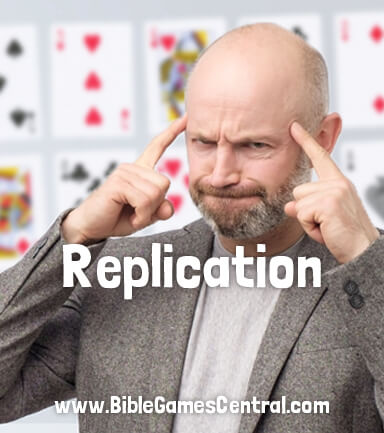 Replication Bible Game for Adults and Youths