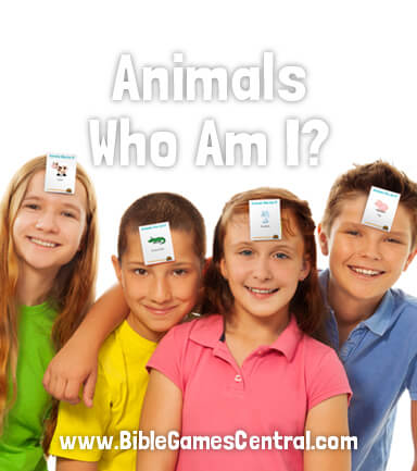 Animals Who Am I Bible Game for Kids