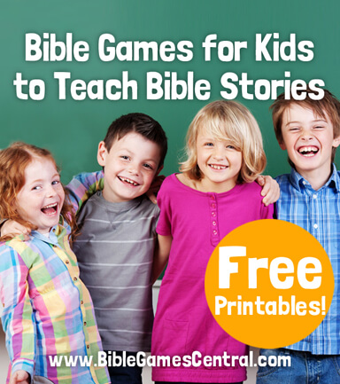 Bible Games for Kids to Teach Bible Stories