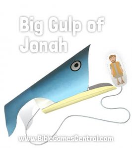 Big Gulp of Jonah Sunday School Game