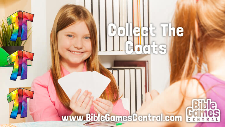 Collect the Coats Bible Game for Kids