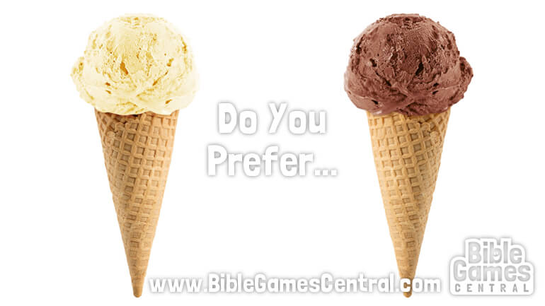 Do You Prefer Youth Group Game