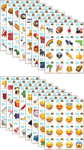 Emoji Story Cards