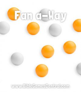 Fan A-Way Bible Game for Kids