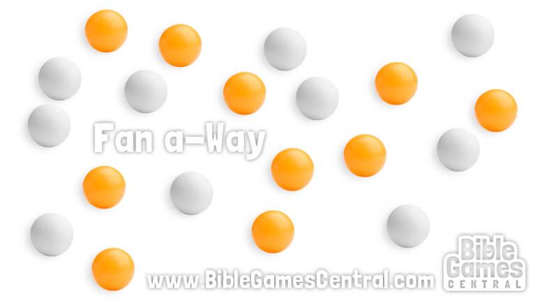 Fan A-Way Bible Game for Kids