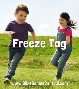 Freeze Tag Sunday School Game