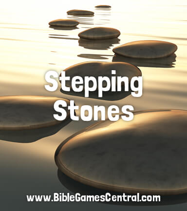 Stepping Stones Bible Game for Kids