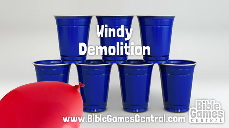 Windy Demolition Bible Game for Kids
