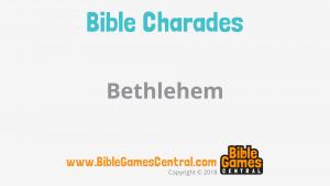 Bible Charades Slide-10