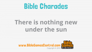 Bible Charades Slide-13