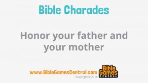 Bible Charades Slide-15