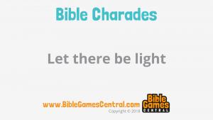 Bible Charades Slide-16