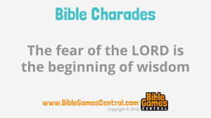 Bible Charades Slide-18