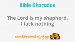 Bible Charades Slide-23