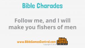 Bible Charades Slide-26