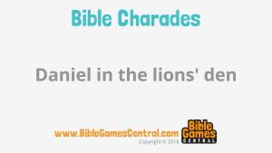 Bible Charades Slide-31