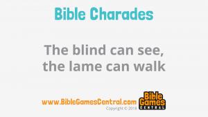 Bible Charades Slide-32
