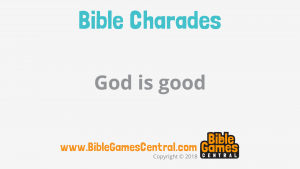 Bible Charades Slide-33
