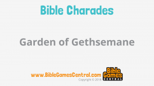 Bible Charades Slide-34
