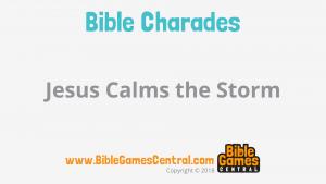 Bible Charades Slide-38