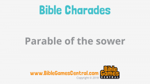 Bible Charades Slide-49