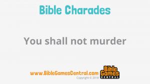 Bible Charades Slide-52