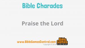 Bible Charades Slide-60