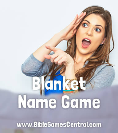 Blanket Name Christmas Game