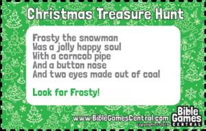 Christmas Treasure Hunt Clue 10