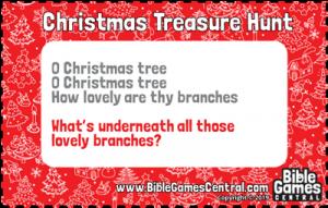 Christmas Treasure Hunt Clue 11