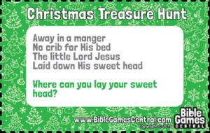 Christmas Treasure Hunt Clue 2