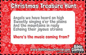 Christmas Treasure Hunt Clue 9